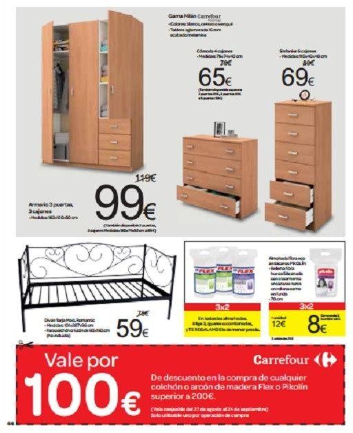 Catalogo De Muebles Carrefour Septiembre 2013 Muebles Interior In 2020 Locker Storage Furniture Storage