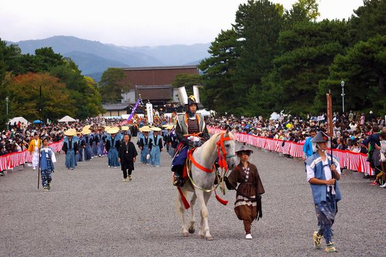 Jidai Matsuri (時代祭 | Festival of the Ages), Kyoto (京都市), Japan (日本) - held on October 22, w/c is the founding date of Kyoto. || more info, along w/ map of the route: http://www.japan-guide.com/e/e3960.html || 2104 時代祭(柴田勝家)-1 | Flickr - Photo Sharing!