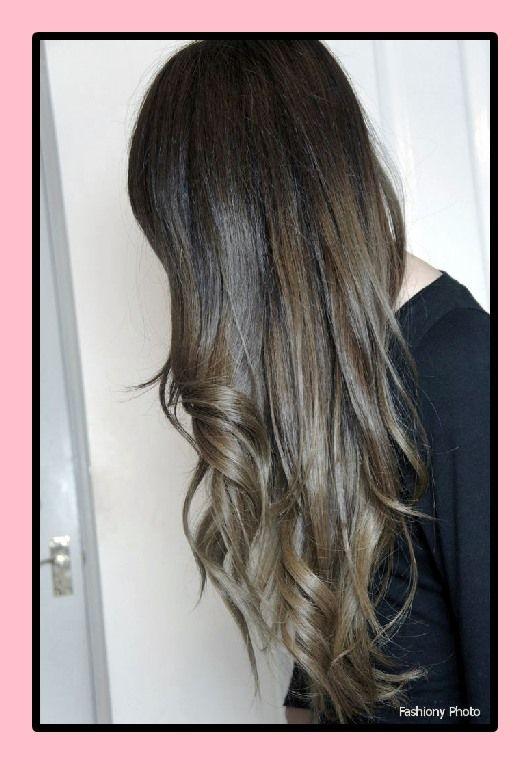 Frisuren farbe ombre