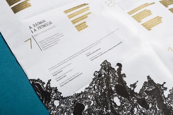 Galanga Chico Rei - Promocional    Cliente: Mauricio Tizumba - 2015 - promotional design   Client: Mauricio Tizumba - 2015 - Oeste: oeste.art.br