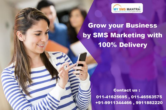 SMS Service Provider India - mysmsmantra.com is a largest bulk sms service provider Company in India. Grow your business by SMS marketing with 100% delivery. Know more visit : http://www.mysmsmantra.com/