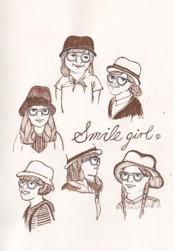 smile girl #illustration