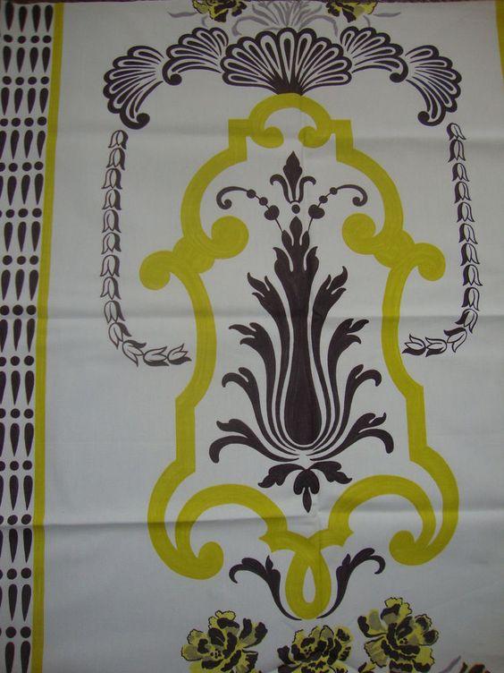 85cm x 98cm Designers Guild Bergius cotton duck curtain fabric remnant | eBay