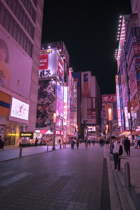Amazing Japan Akihabara Tokyo Aesthetic Japan City Aesthetic