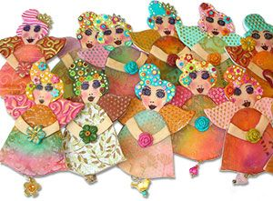 Hilla Bushari: Polymer, Arts Crafts, Clay Jewelry, Paper, Clay Daily, Do, Clays Resin, Body Shapes, Beads Face