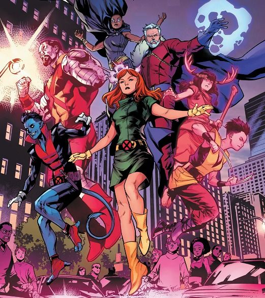X Men From Age Of X Man Nextgen Vol 1 1 Comic Book Background Xmen Comics Comic Book Crafts