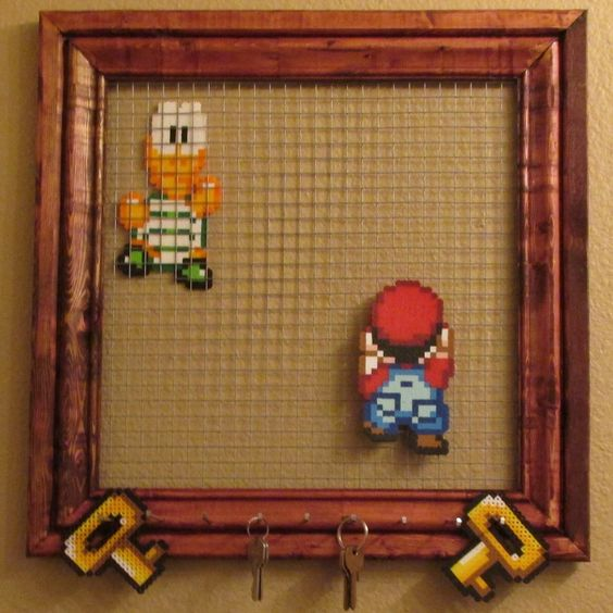 Punch him Mario! If it's good enough for Mario's keys, it's good enough for mine. :)