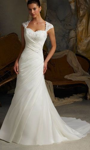 wedding dress with sleeves..close to the dress I ha e been dreaming of..but not quite.
