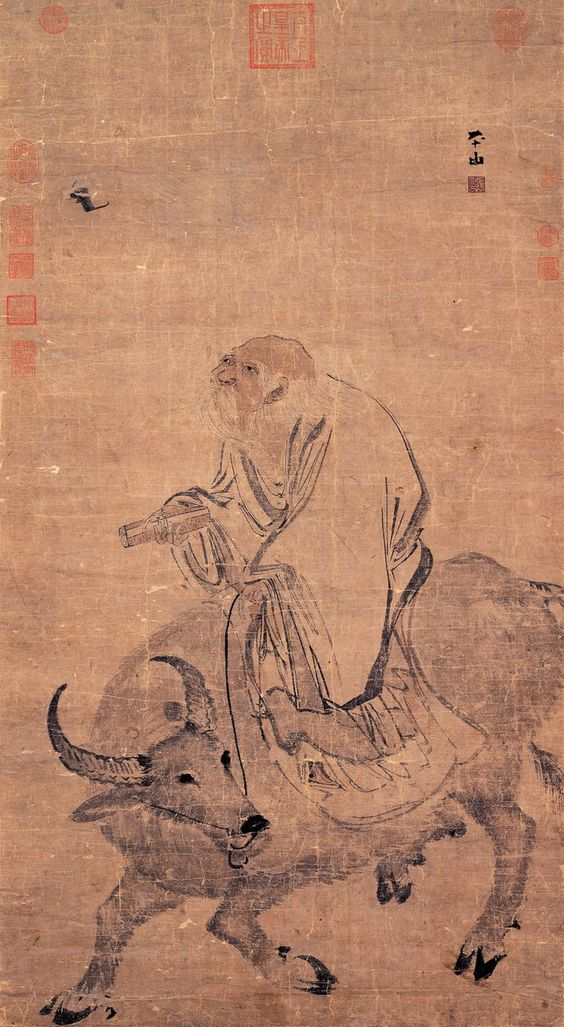 Lao Zi (chevauchant le buffle)