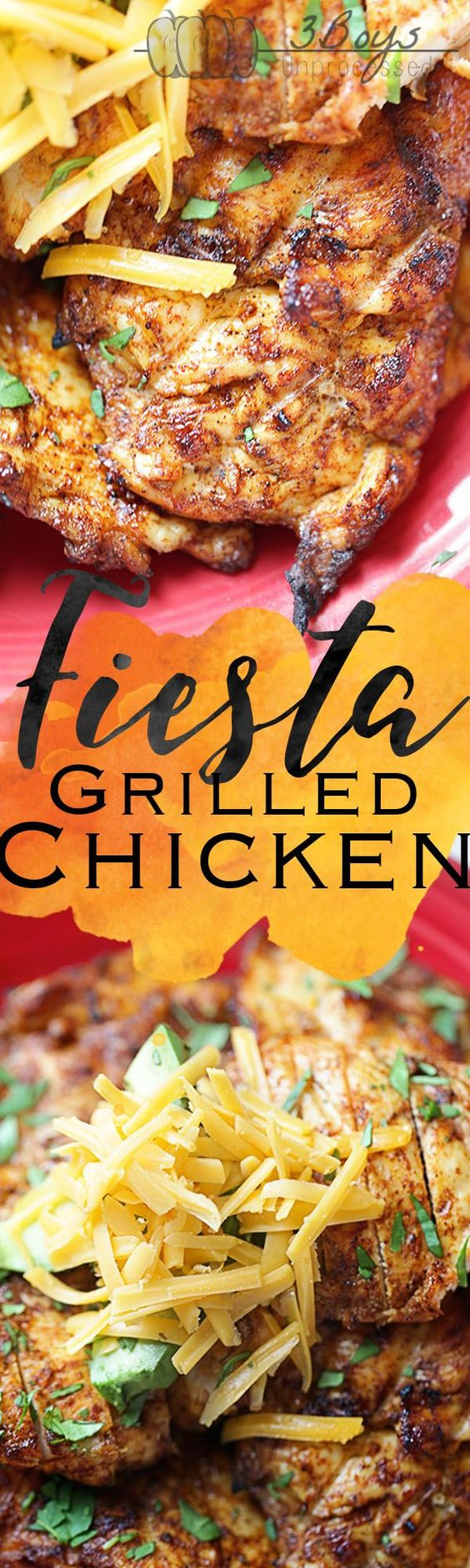 The perfect summertime grilling recipe! Boneless, skinless chicken topped with…