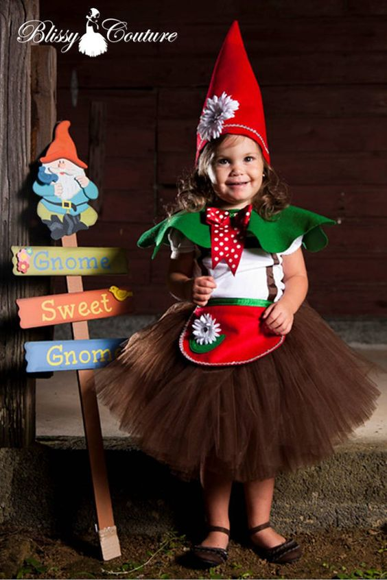 Gnome Sweet Garden Gnome Tutu Costume Oh My Cuteness Maybe For Next Year Stuff For Kid