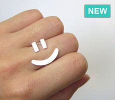haha Smiley face ring.