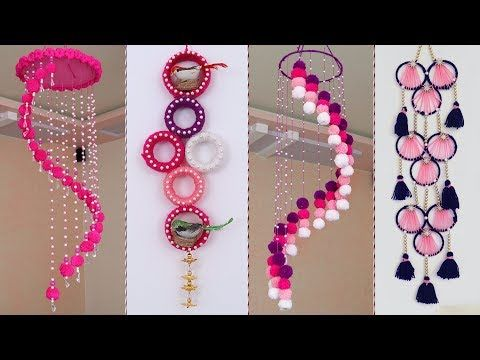 8 Beautiful Home Decor Wall Hanging Ideas Diy Craft Youtube