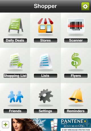 Shopper --> http://itunes.apple.com/us/app/shopper-shopping-list-flyer/id284776127?mt=8