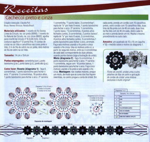 Lillesallid - Roheline - Álbuns da web do Picasa...great pattern for making a flowered bracelet!