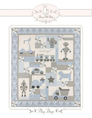 Bunny Hill Designs Play Days Quilt Pattern