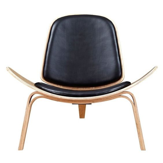 Fancy - Milano Black Natural Shell Chair