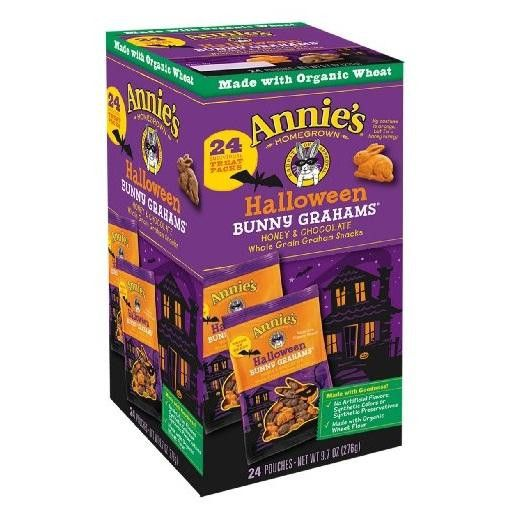Annie's Homegrown Halloween Bunny Graham Snacks (6x9.7 Oz)