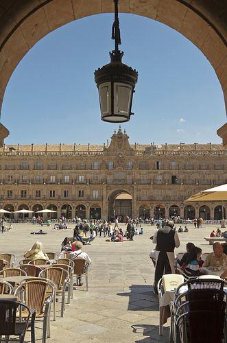 Salamanca, España - Plaza Mayor