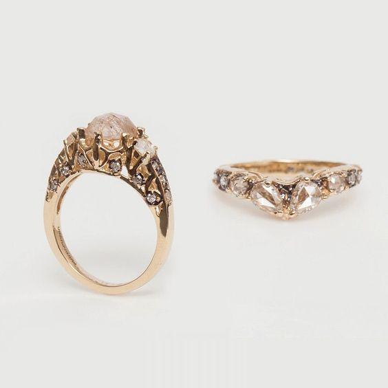 themaniamania's photo on Instagram I loveeeee this engagement ring