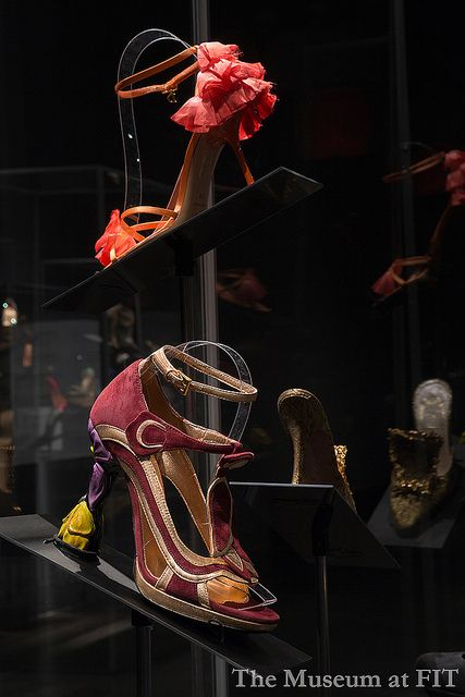 Shoes by Prada and Dior by Museum at FIT, via Flickr