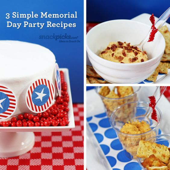 memorial day party food menu