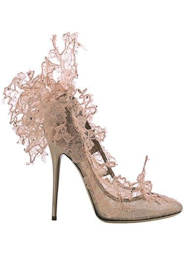 Amazingly beautiful -- not that I could walk in them!