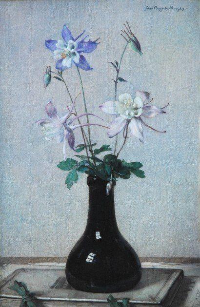 Johannes Jacobus Maria 'Jan' Bogaerts (1878-1962) — Aquilegia (410×630):
