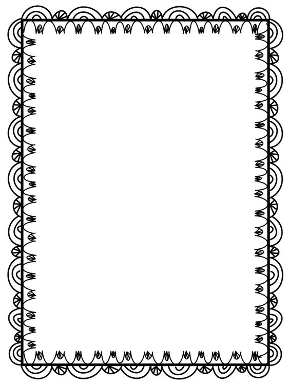 BORDERS: 21 FREE cliparts that you can download to your computer and use in your designs.