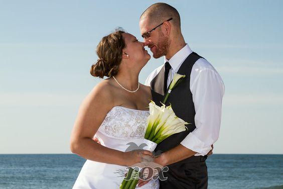Ocean City Maryland Beach Wedding Ceremony By Rox Weddings Of MD