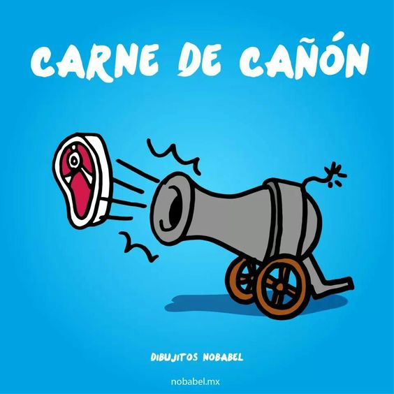Carne de cañón
