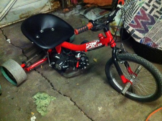 Drift Trike Build Diy Go Kart Forum Drift Trajk Pinterest