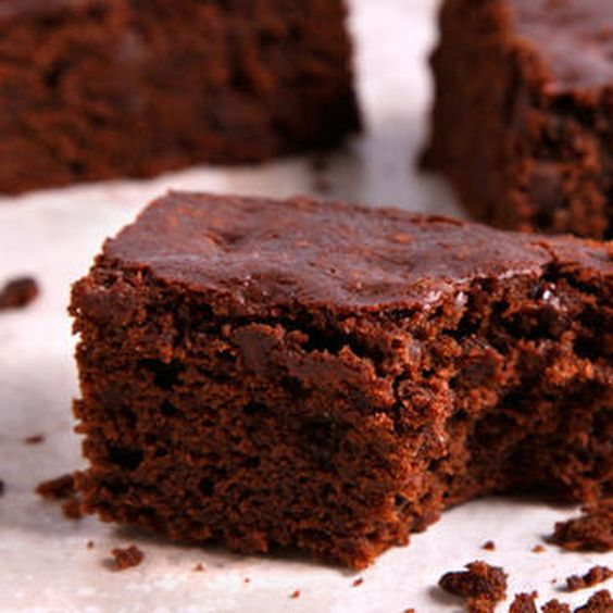 Vegan Brownies Recipe Desserts with all-purpose flour, granulated sugar, unsweetened cocoa powder, baking powder, fine salt, unsweetened applesauce, maple syrup, soy milk, vegetable oil, vanilla extract, semisweet vegan chocolate chips, toasted walnuts