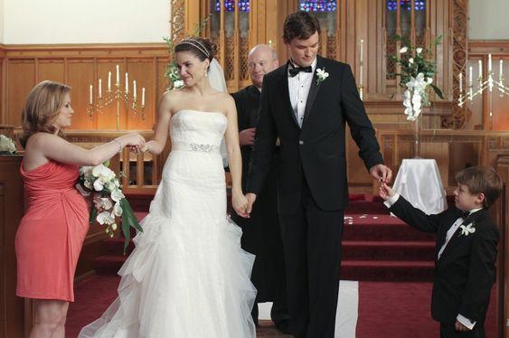 One Tree Hill. Brooke's Wedding Dress. Sophia Bush.