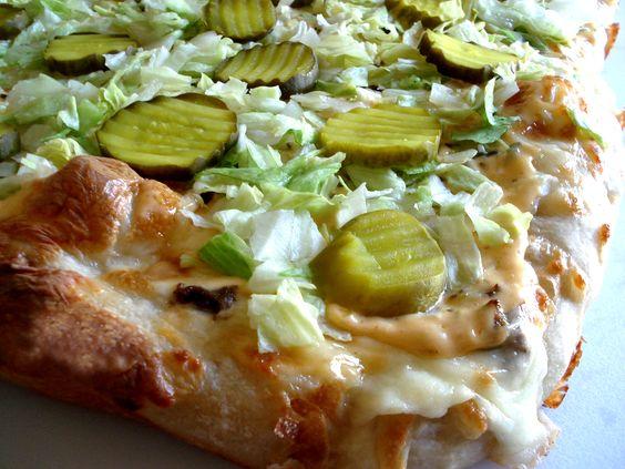 Big Mac Pizza « Maine Dish Home