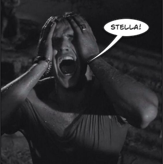 """""""STELLAAAA!'' 'A Streetcar Named Desire'  #MarlonBrando"""