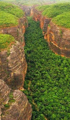 Serra Vermelha - Piaui - Brasil: