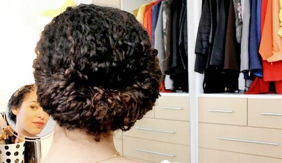 Penteados fáceis para cabelos cacheados - E aí, Beleza?: