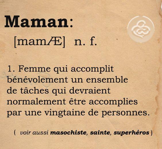 Pour toutes les mamans extraordinaires que je connais qui sont exactement comme ça! XXX                                                                                                                                                      Plus