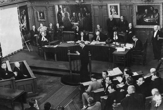 Van Meegeren's Trial in Amsterdam, (1947)   This is probably one of the most 'celebrated' cases of forgery.  In 1945 Han van meegeran confessed that he was the artist responsible for the eight paintings, of which six had been sold as legitimate Vermeers.