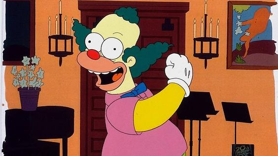 I really hope Krusty the Clown doesn't die...