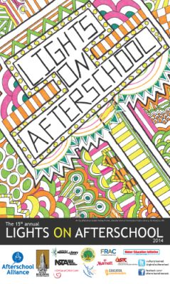 2014 Lights On Afterschool poster contest winner: Ashley Parker from Farmington, New Mexico!