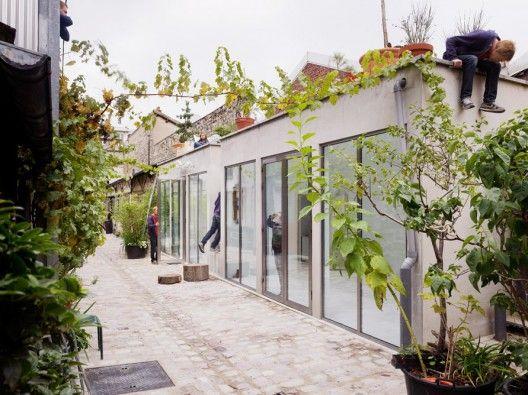Two Workshop Studios by FREAKS freearchitects (Saint-Ouen, Francia) #architecture