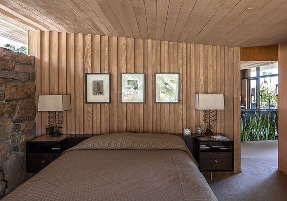 Edris Residence    Architect: E. Stewart Williams (1953)  Location: Palm Springs, CA