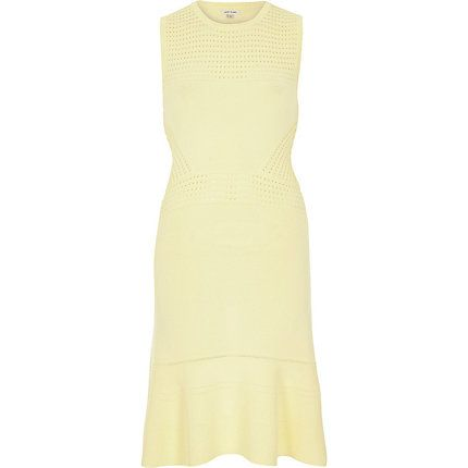 Yellow flared dress £45.00