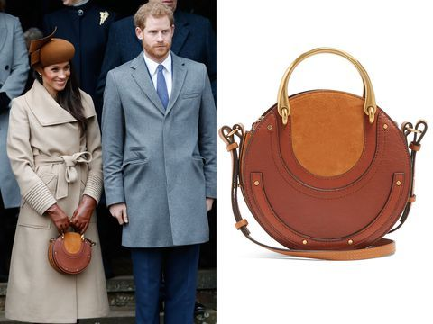 Meghan Markle Purse Christmas 2020 Meghan Markle Chloe Pixie Handbag she wore to her first Christmas