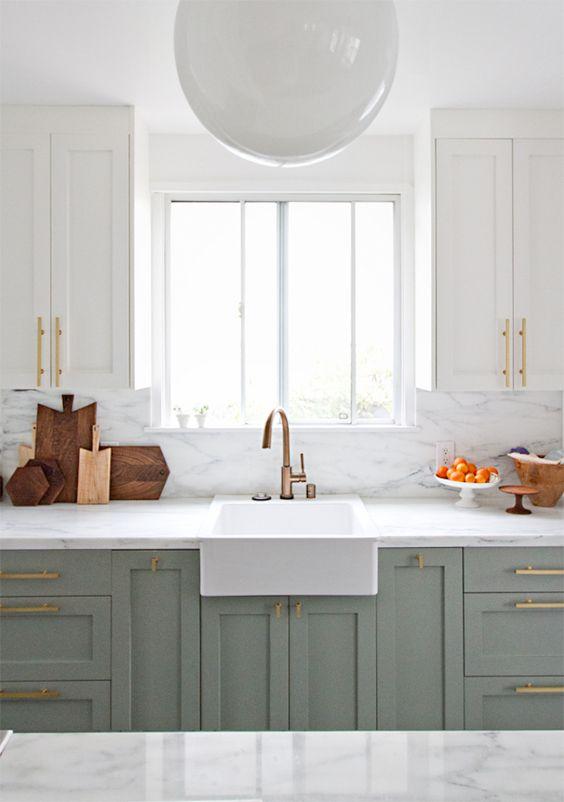 *Dream Kitchen Wish-list Inspiration* A beautiful clean kitchen. #LGLimitlessDesign & #Contest