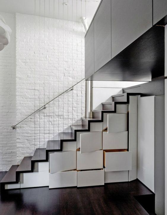 Stair + storage