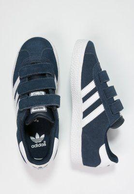 adidas Originals GAZELLE 2 - Sneaker - core navy/white - Zalando.de