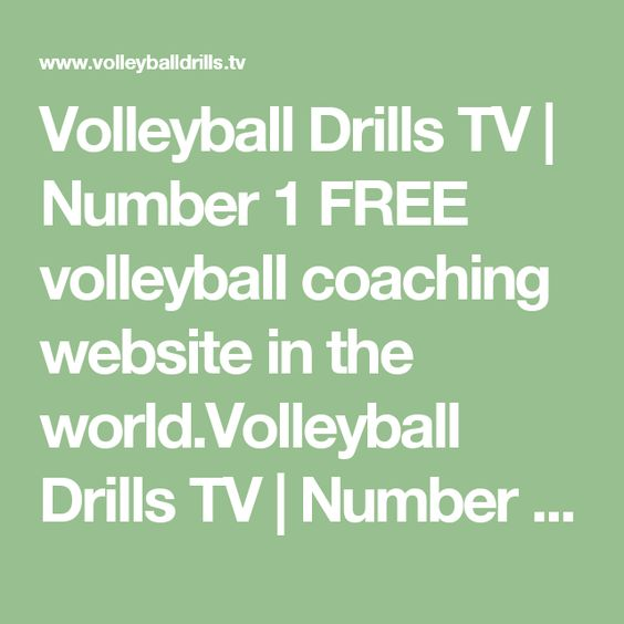 Volleyball Drills TV | Number 1 FREE volleyball coaching website in the world.Volleyball Drills TV | Number 1 FREE volleyball coaching website in the world.